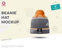 Beanie Hat Mockup