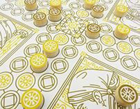 MUSTACHE PARADE. Board Game Design