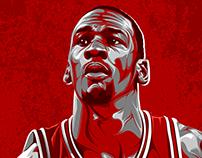 """Michael Jordan """"Young 1"""""""