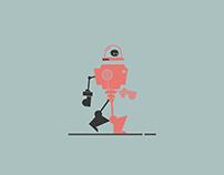 Robot Walking Cycle