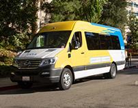 Vehicle Wrap Design: UCLA BruinAccess Van