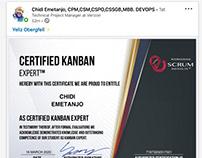 Scrum Institute Certified Kanban Certification Programs