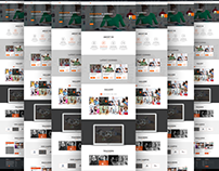 Learning - Education Free PSD Template