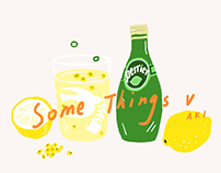 Some Things Illustration 日常の物插画