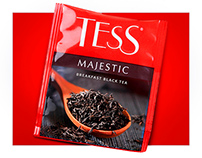 TESS MAJESTIC tea package