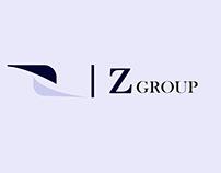 illustrated logo design of z letter