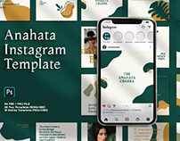 ANAHATA - Instagram Template Post & Stories