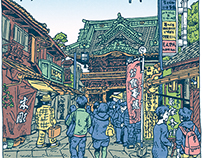 100 Views of Tokyo(6〜10)