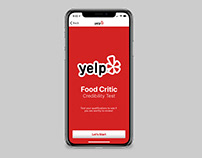 UI/UX Design: Yelp Food Critic Credibility Test