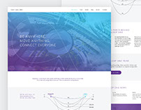 Hyperloop One Redesign || Web Design Concept