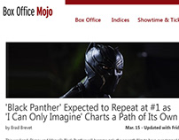 Box Office Mojo concept design