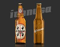 Ichnusa Beer - Minimal brand restyling