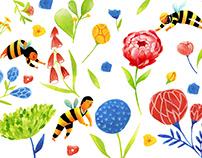 Pollen Studio Pattern
