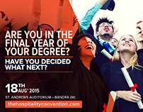 Digital creatives for The Hospitality Convention
