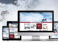LAAX ski resort | responsive website