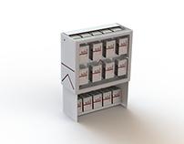 Display design of Marlboro cigaretts