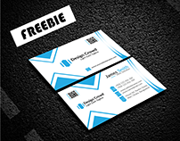 Abstract Business Card 2 Freebie