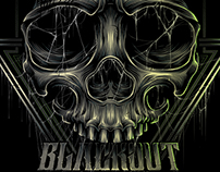 "The ""BLACKOUT BROTHER"" SKULL"
