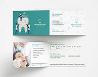 Dental Folded Business Card