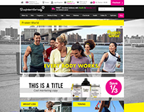 Superdrug.com Protein World Brand page