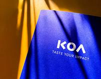Koa – taste your impact