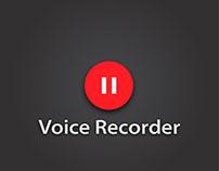 Minimal Voice Recorder