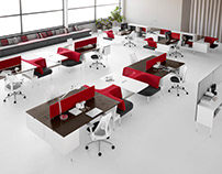 Open concept office ideas!