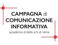 CAMPAGNA di COMUNICAZIONE INFORMATIVA