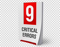 9 Critical Errors (Book Image and Cover Design)
