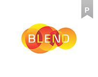 Blend™ identity design