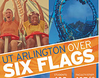 UT Arlington Six Flags Day