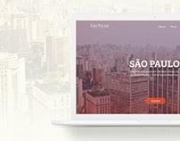 São Paulo City Guide - Landing Page