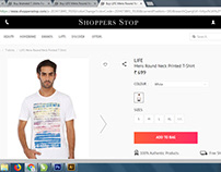 My Design Online Sale in Shopper Stop Website