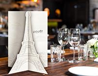 Poulet Restaurant Menu Pitch