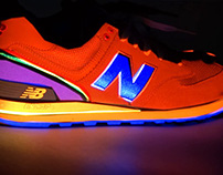 Projection Mapping with New Balance Shoe