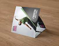 Square Trifold Brochure for Dance Studio