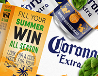 Creating a promotional box for the Corona