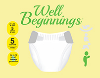 Redesign of the Well Beginnings brand