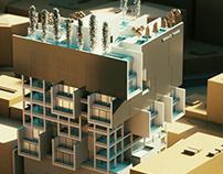 Sarvestan Building in Tehran designed by Saffar Studio
