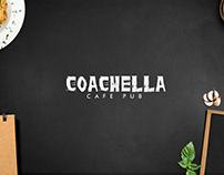 Coachella Cafe Pub Branding