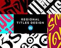 Thai Regional Titles Design