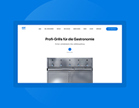 KSF Grill landing page