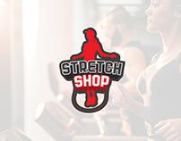 Stretch Shop logo design