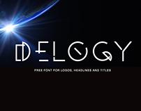 Free Delogy Display Font