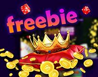 Spin It - Casino & Gambling PSD Freebie