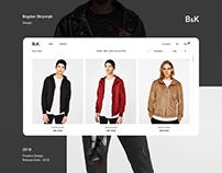 B&K (Website, Online shop, Fashion)