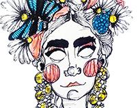 Oh Frida! - Ilustración