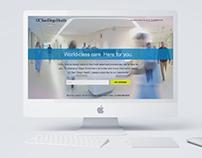 UC San Diego Health - Landing Page