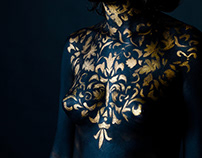Body painting by me Style Baroque