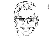 Elton John Minimalist Portrait